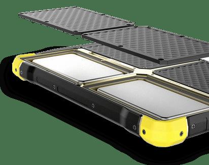 Robusten tablični računalnik simptom 80 baterija
