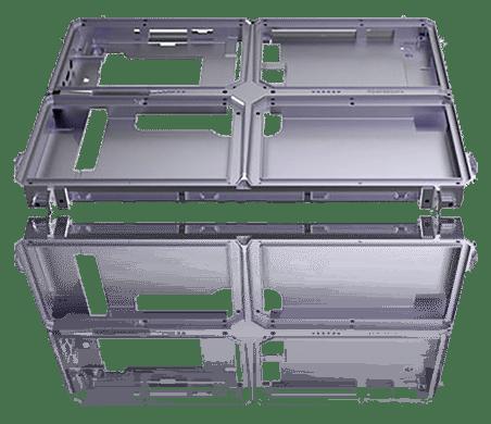 Robusten tablični računalnik simptom 80 Robusten okvir