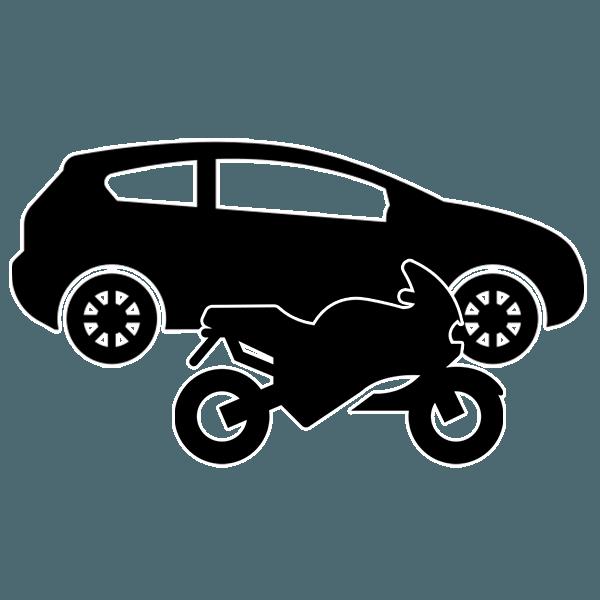 Sledenje vozil simptom - osebna in motorna vozila