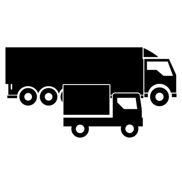 Sledenje vozil simptom - transportna vozila