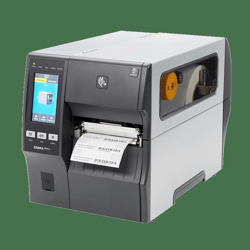 simptom RFID tiskalnik Zebra ZT411 on metal