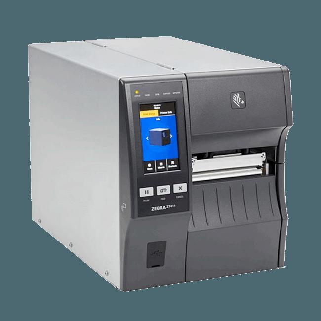 simptom RFID tiskalnik Zebra ZT411