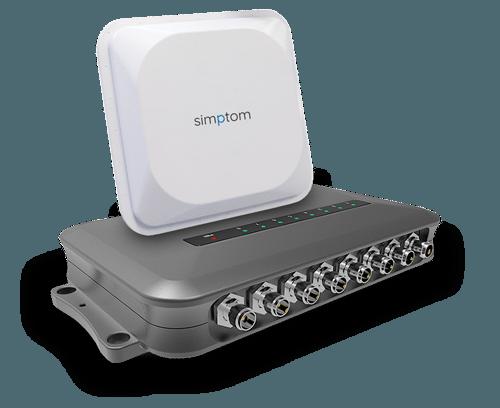 Stacionarni RFID čitalec in antena